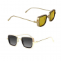 Squared Avaitor Sunglasses For Men And Boys