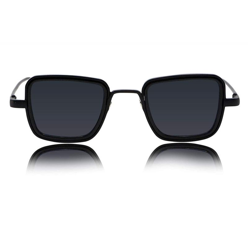 Elegante Metal Body With Black Lenses Inspired From Kabir Singh Sunglass For Men And Boys
